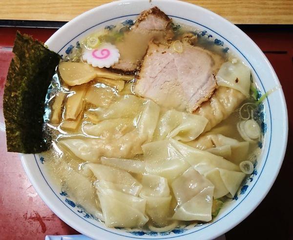 「ワンタン麺(塩)¥940」@十二社 大勝軒の写真