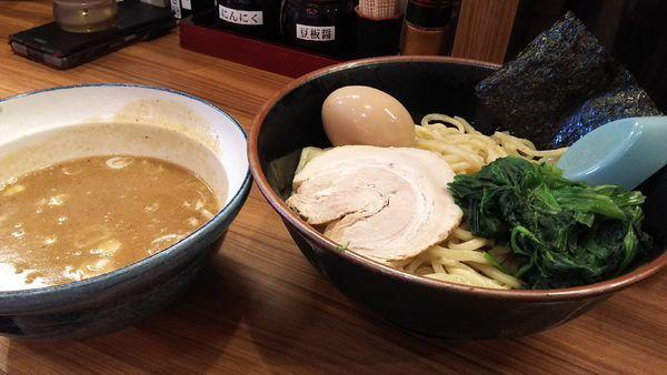 「つけ麺¥880」@横浜家系ラーメン 壱角家 大和桜ヶ丘店の写真