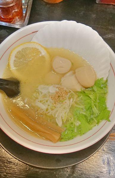「ホタテ塩らーめん」@麺や 蔵人の写真