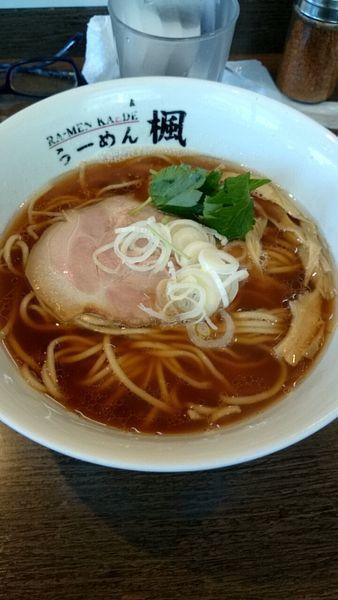 「煮干しラーメン(750円)」@ら〜麺 楓の写真