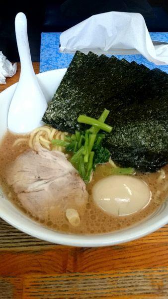 「のりたまラーメン(800円)」@横浜ラーメン厨房 うえむらやの写真