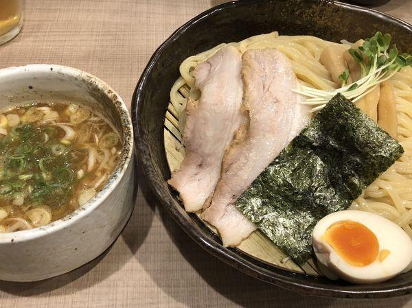 「魚介鶏豚骨つけ麺」@麺や 恵の写真