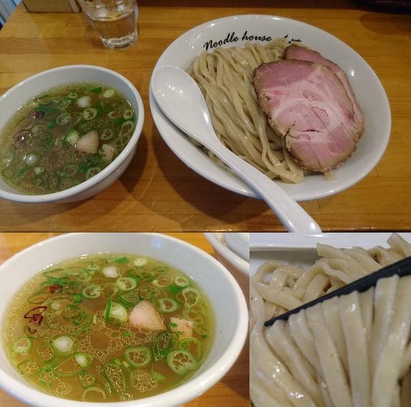 「塩つけ麺 大盛 ローストポーク2枚増し」@麺庵ちとせの写真