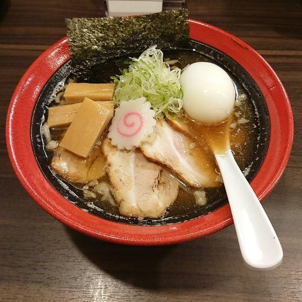 「焼煮干し中華そば 醤油  @900円」@麺や 玄鳥の写真