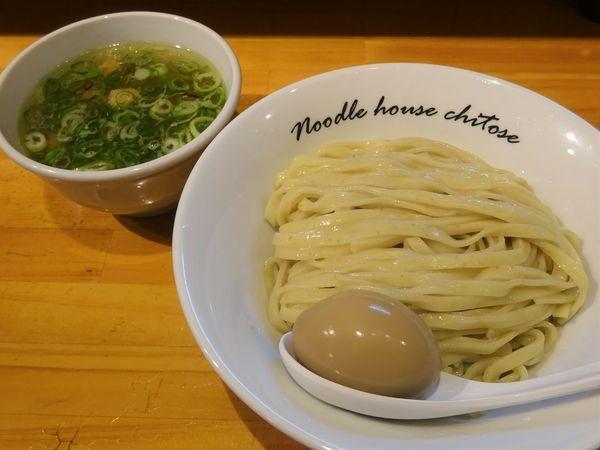 「塩つけめん  900円」@麺庵ちとせの写真