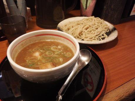 「つけ麺 濃厚魚介とんこつ 並」@らぁーめん 夢屋台 伊丹店の写真