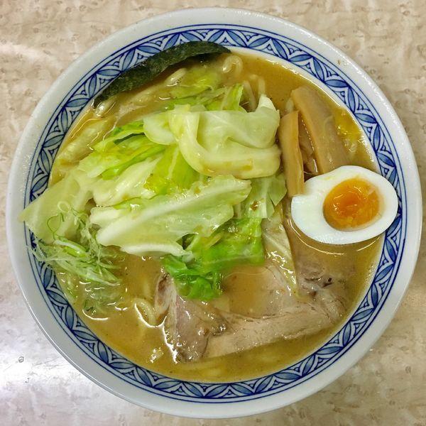 「キャベツラーメン 850円(太麺)」@喰我の写真