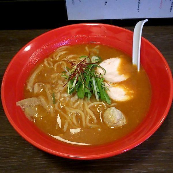 「濃厚辛味噌鶏そば (辛)」@麺屋ばらいちの写真