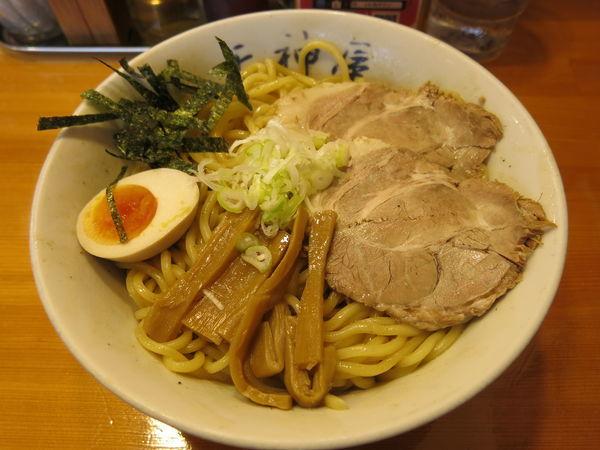 「油そば(麺大盛):760円」@天神屋 秋葉原本店の写真