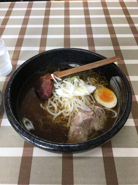 「昔風醤油ラーメン」@満足ヌードル ラーメンハウス 北郷本店の写真