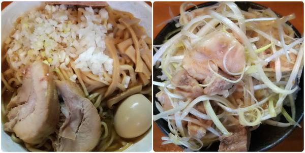 「【限定C】秋刀魚そば+ネギ飯」@ファットンの写真