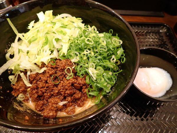「汁なし担担麺・3辛・麺140gセット」@広島式 汁無し担担麺 湯島ひよこ堂の写真