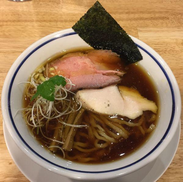 「中華そば(醤油)750円」@手打式 超多加水麺 ののくらの写真