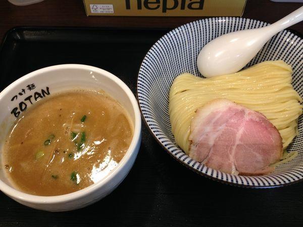 「つけめん並」@つけ麺 BOTANの写真