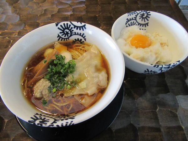 「6周年限定 ものすげー鶏+かき氷+ハワイ抽選(2000円)」@特級鶏蕎麦 龍介の写真