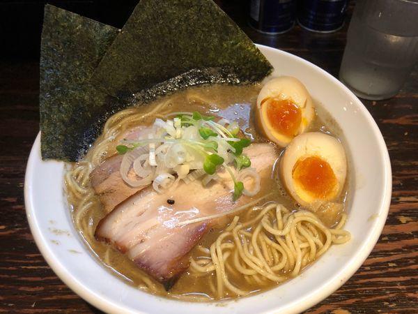「特製濃厚煮干しラーメン980円」@麺屋 一寸星の写真
