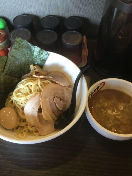 「特製メガ豚煮干しつけ麺  1100円」@らーめん 福たけの写真