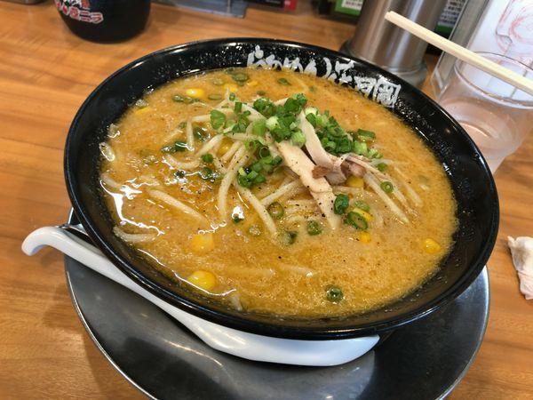 「黄金の味噌ラーメン」@らあめん花月嵐 鴻巣店の写真