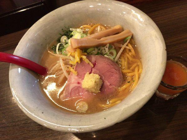 「味噌らーめん」@味噌専門麺屋大河の写真