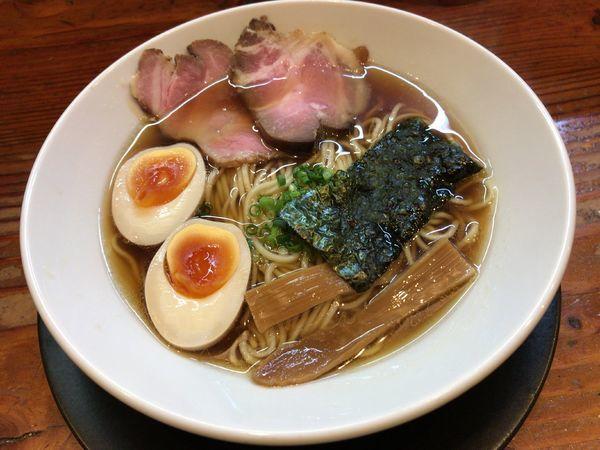 「徳丸麺」@自然派ラーメン 神楽の写真