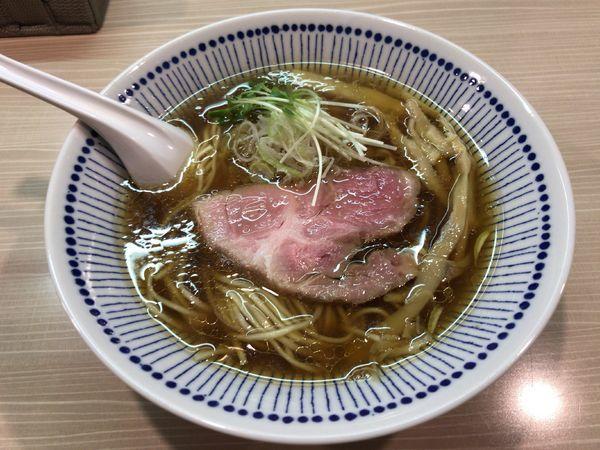 「香味中華そば」@麺屋 鶯 uguisuの写真