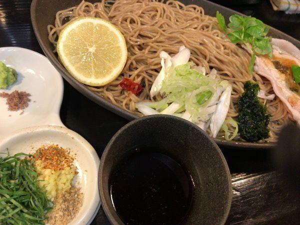 「Premium つけ麺」@らぁめん矢 ロックンビリースーパーワンの写真