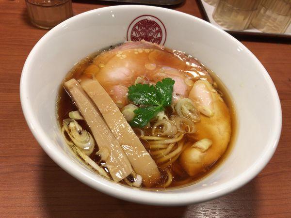 「鶏醤油らぁ麺」@らぁ麺とうひちの写真