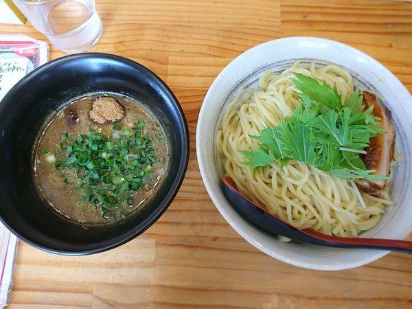 「濃厚かつおつけ麺(中太麺)」@中華麺酒家 からっ風の写真