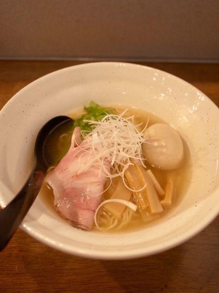 「鶏そば…720円」@ラーメン翼の写真
