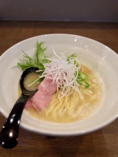 「鶏白湯…780円」@ラーメン翼の写真