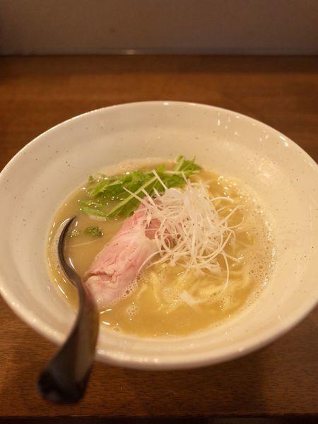 「鶏Wスープ…780円」@ラーメン翼の写真