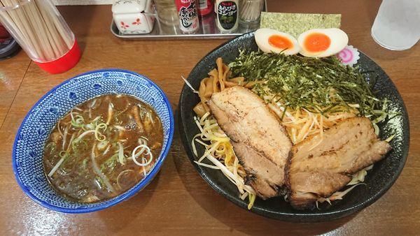 「ネギつけそば(並) 950円 + クーポン味玉」@麺屋こうきの写真