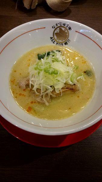「鶏白湯塩」@らーめんや なかじゅう亭 高崎オーパ店の写真