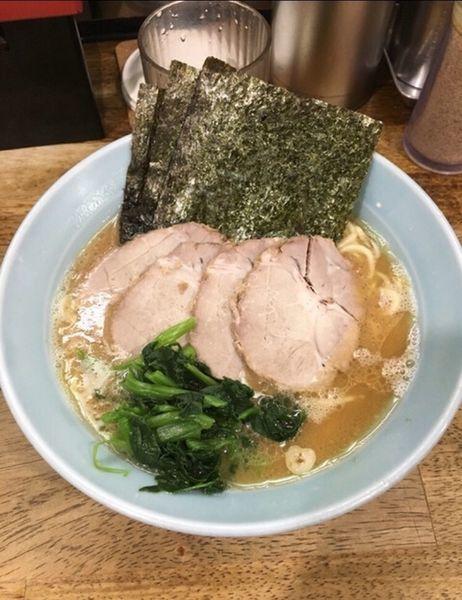 「チャーシュー麺」@横浜家系ラーメン 家家家 錦糸町店の写真