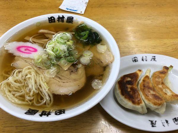 「ラーメン620円、餃子280円」@田村屋の写真