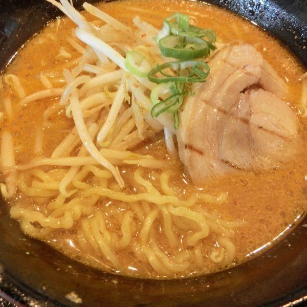 「百年味噌ラーメン+餃子セット」@マルキン本舗 幸手店の写真