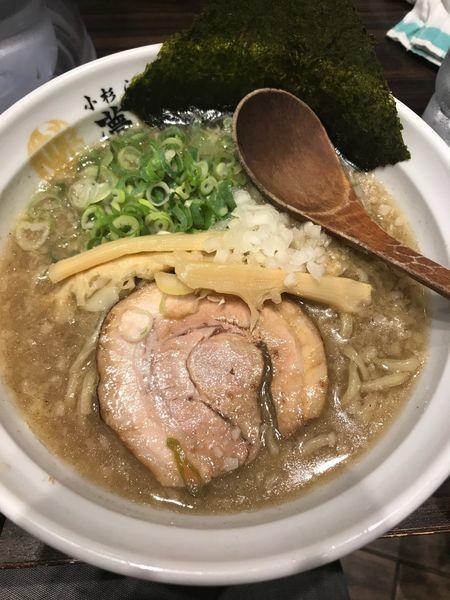「背脂煮干ラーメン」@小杉らぁめん 夢番地の写真