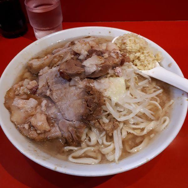 「ラーメン+ショウガ」@ラーメン二郎 西台駅前店の写真