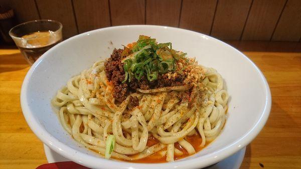 「汁無し担々麺(大盛)」@麺庵ちとせの写真