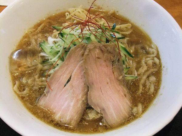「冷やし味噌らーめん(950円)+おろし生姜(50円)」@麺や うから家からの写真