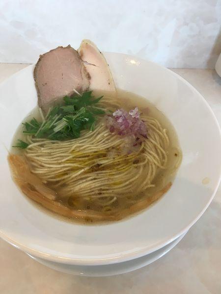 「塩そば」@noodle kitchen KYOの写真