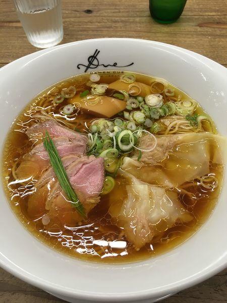 「醤油らぁ麺」@Ramen ドゥエ Edo Japanの写真