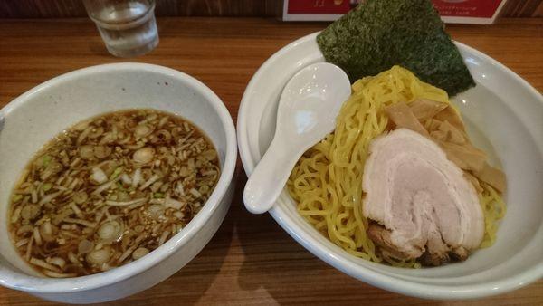 「つけ麺(大盛)」@麺家 さざんかの写真