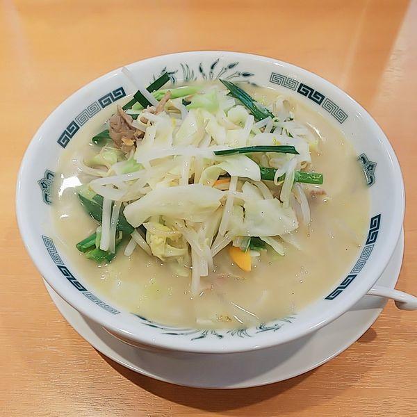 「野菜たっぷりタンメン」@日高屋 久米川駅南口店の写真