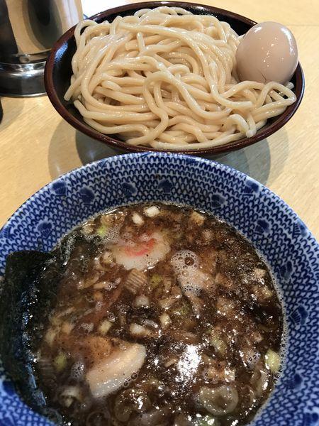 「つけ麺 味玉・半チャーシュー」@くり山の写真