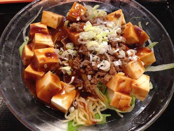 「冷し麻婆麺」@食福の写真