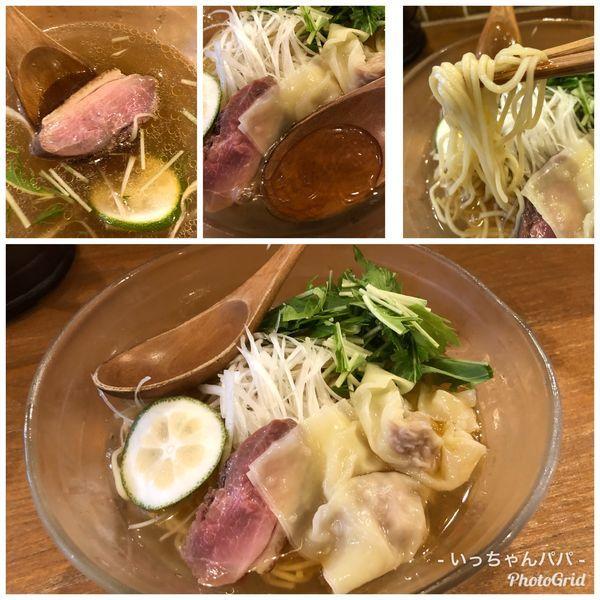 「冷やしSOBA 950円」@鶏ポタラーメン THANK お茶の水の写真