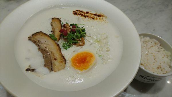 「鶏白湯、ご飯」@MENSHO SAN FRANCISCOの写真