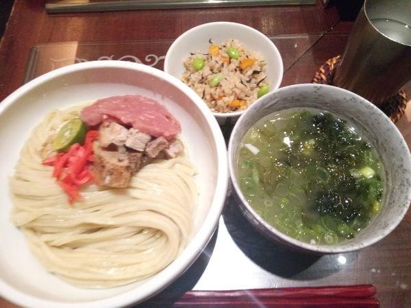 「【限定】繁人-shigenchu-(つけそば)」@つけ麺 繁田の写真