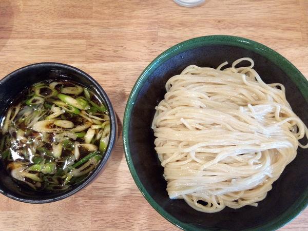 「醤油つけ麺」@クラッチ ヒッターの写真